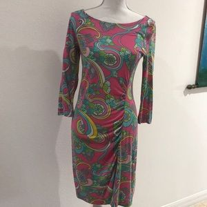 Multi Color Lily Pulitzer Dress Size Small